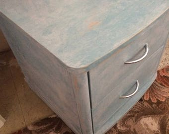 Two draw bedside cabinet