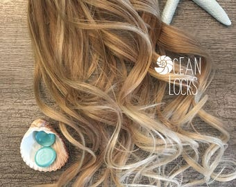 Human Hair Extensions, Hair extensions Clip In, Ombre Hair, Blonde Hair, Mermaid Hair, Peekaboo Hair, Real Hair Extensions