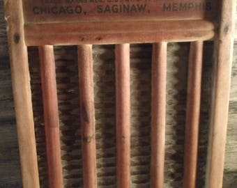 National Washboard Co. No National 802. Vintage Washboard. Made in the USA.