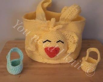 Toillet paper basket/ owl decorative towel basket/