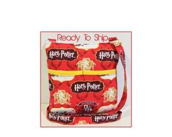20% OFF SALE Harry Potter Crossbody Bag / Sling Bag // Crossbody Purse // Shoulder Bag // Hipster