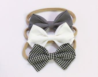 Charley party bow headband set