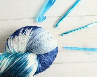 Chloe is Bae - Life is Strange themed hand dyed yarn - lace weight - 100g -merino wool - Arcadia Bay