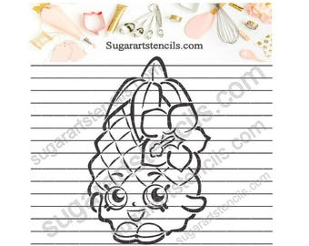 PYO cookie stencil shopkins NB30011 kids party favor