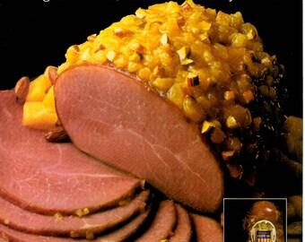 1984 Hormel Ham vintage magazine ad  kitchen decor food recipe  1705