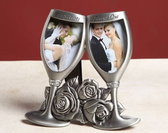 A Champagne Toast Photo Frame