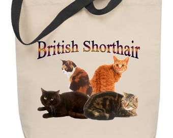 British Shorthair Cat Tote Bag
