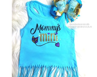 Custom Toddler Fringe Tank Top
