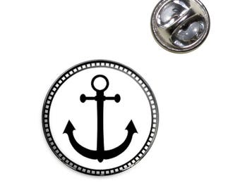 Anchor Lapel Hat Tie Pin Tack
