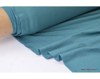 Fabric super soft Jersey viscose bamboo color duck