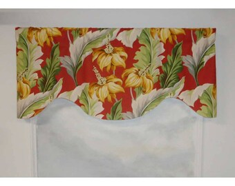 Bloomcraft Slubbed Beach Paradise Valance