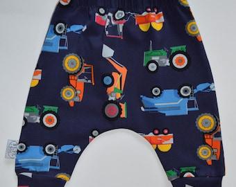 Car s pants, harem pants, truck pants