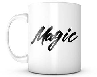 Magic Coffee Mug - Unique Gifts For Men or Women, Him or Her - Cool Present Idea For Mom, Dad, Kids, Son, Daughter, Wife