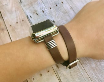 Apple Watch Band, Gift for Her, Faux Leather Apple Watch Band, iWatch Band, Wearable Technology, Wearable Tech, Apple Watch Accessories,