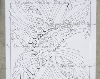 teen spiritual coloring pages - photo#20