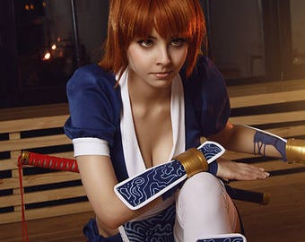 Dead or Alive 5 Kasumi cosplay print