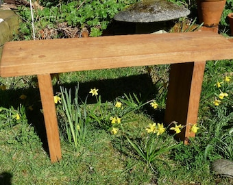 Rustic bench (Oak)