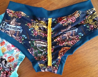 Magical Floral Woman's Ruffle Underwear Bunzies