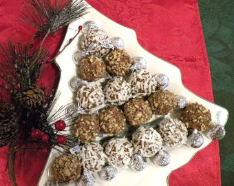 Tasty Gifts No-Bake Date Nut Bites - A downloadable PDF or JPEG Eating Cleaner healthy dessert energy ball and holiday recipe file