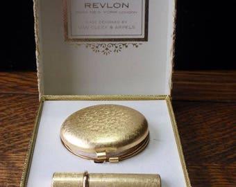 Revlon Van Cleef & Arpels Compact and Lipstick