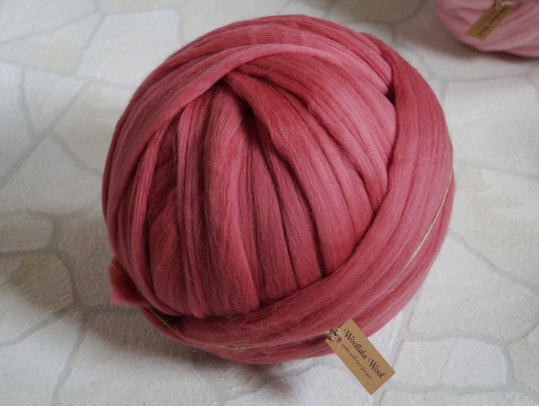 Arm Knitting Yarn Australia : Super bulky yarn jumbo merino wool roving