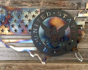 USA/Navy Wall Hanger