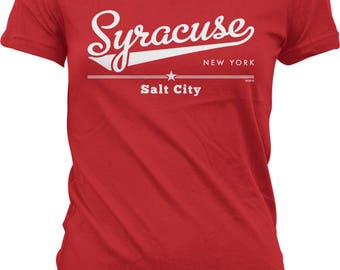 Syracuse, New York, Salt City Juniors T-shirt, NOFO_01258