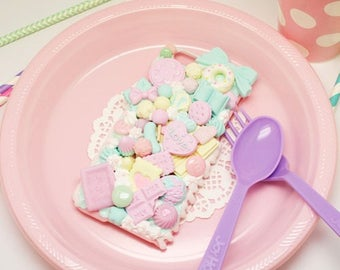 kawaii sweets decoden phonecase milky house