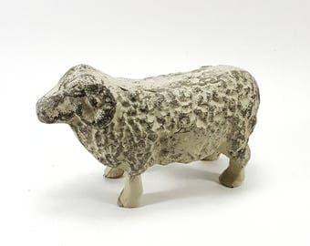 Sheep Cast Metal Figurine