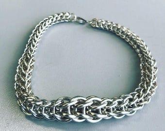 Sterling Silver Full Persian Bracelet
