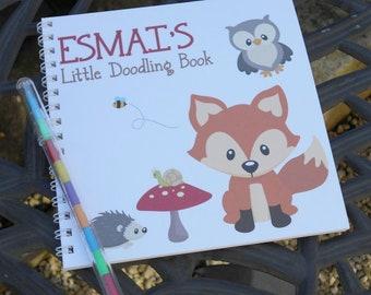 Woodland Tot Doodling Book