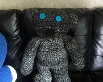 Giant Crochet Teddy Bear
