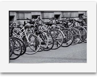 Bikes, In Cambridge, Limited Edition Print, Two Sizes Available