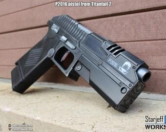 P2016 Pistol from Titanfall 2 [Fan-art]
