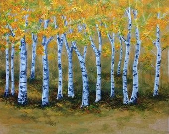 Whispering Birches