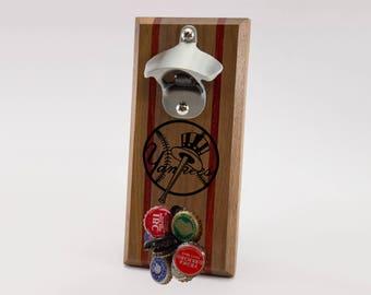 New York Yankees Magnetic Bottle Opener