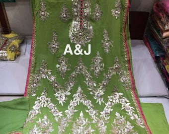 Free Shipping,Indian#Rajasthani Salwar suit with beautiful dupatta