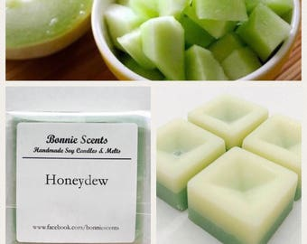 Honeydew Soy Wax Melts. Home fragrance. Gift. Party favour.