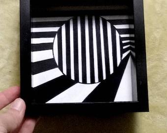 Optical Art Painting