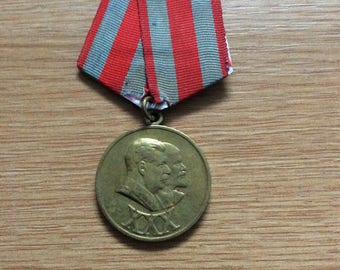 Soviet Russia 30 Years Armed Forces Medal