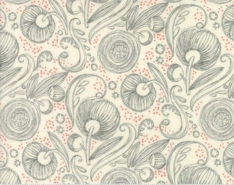 Natural Floral from the Blushing Peonies collection by Robin Pickens for Moda Fabrics, Choose the Cut, Peony