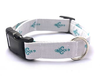 Teal Torch on Grey Collar