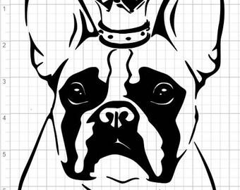 french bulldog svg etsy