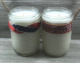 American Made Soy Candles, Homemade Soy Candle Pint