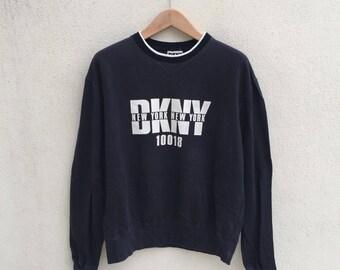 Vintage Dkny Spell Out Logo Sweatshirt