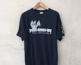 Japan Streetwear Punk Drunkers Tshirt