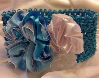 Girls Seafoam Aqua Princess Headband