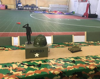 Army, Camo Centerpiece