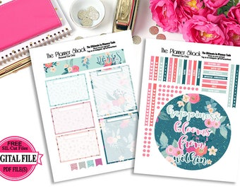 Printable Erin Condren Notes Page // Bloom From Within // Erin Condren // Notes Page // Planner Printables // Planner Stickers