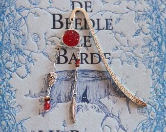 Silver Gryffindor bookmark